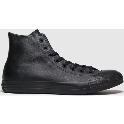 Converse Black All Star Mono Hi Trainers