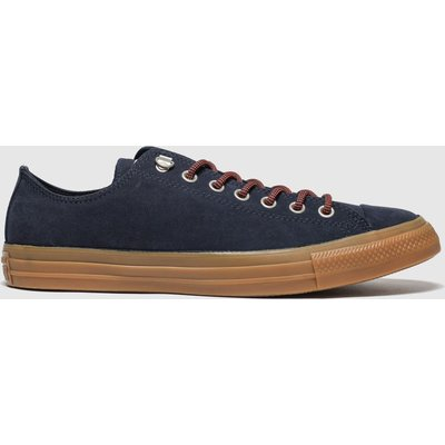 Converse Navy & Orange Earthy Buck Trek Ox Trainers