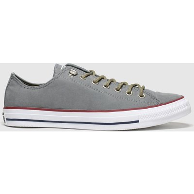 Converse Grey Earthy Buck Trek Ox Trainers