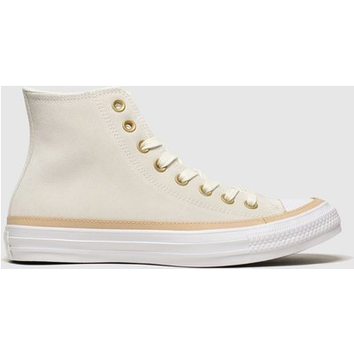 Converse Natural All Star Vachetta Hi Trainers