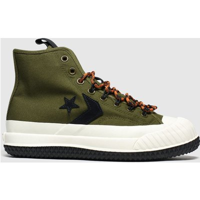 Converse Khaki Bosey Mc Boot Trainers