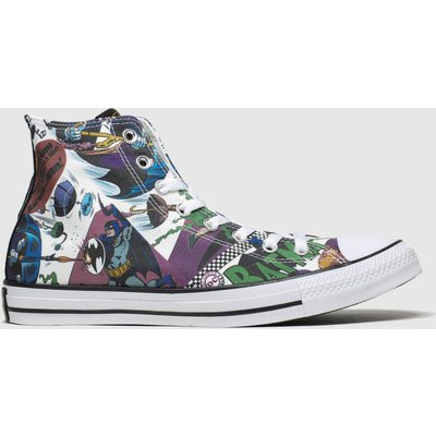 Converse Multi All Star Hi Batman Trainers