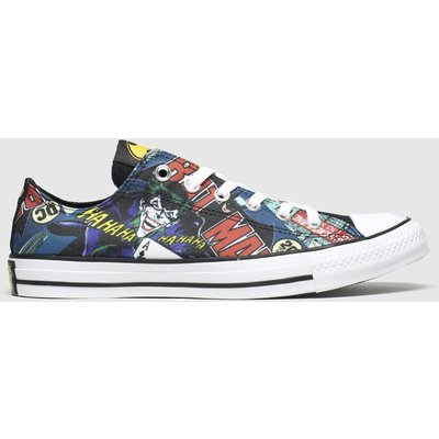 Converse Multi All Star Ox Batman & Joker Trainers