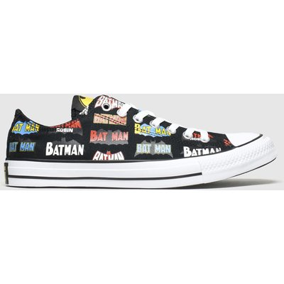 Converse Multi All Star Ox Batman Trainers