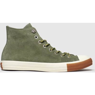 Converse Khaki All Star Hiker Hi Trainers