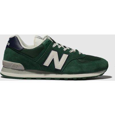 New Balance Green 574 Trainers