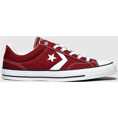Converse Burgundy Star Player Ox Trainers