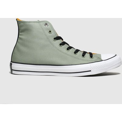 Converse Khaki All Star Space Explorer Hi Trainers