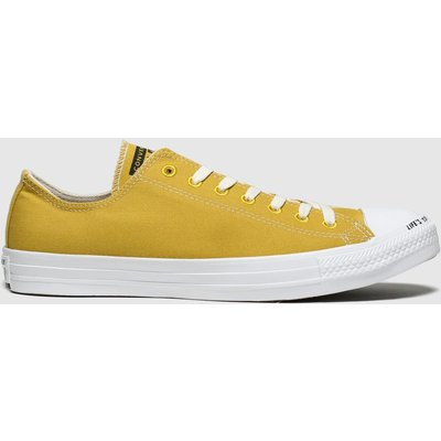 Converse Yellow Chuck Taylor All Star Renew Ox Trainers