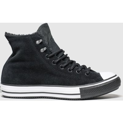 Converse Black All Star Winter Waterproof Hi Trainers