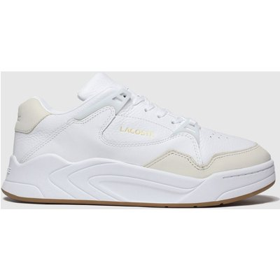 Lacoste White Court Slam Trainers