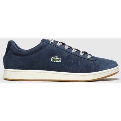 Lacoste Navy Carnaby Evo Trainers