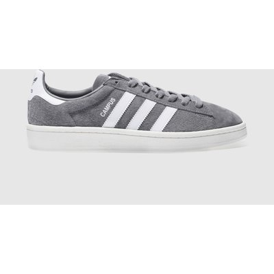 adidas grey campus trainers - 4058025679929
