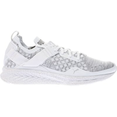 puma white   grey ignite limitless evoknit trainers - 4057828152523