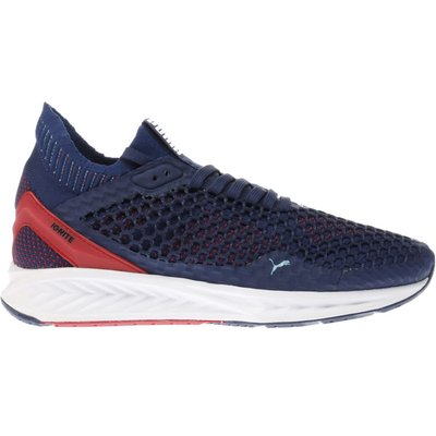 puma navy   red ignite netfit trainers - 5054457905895
