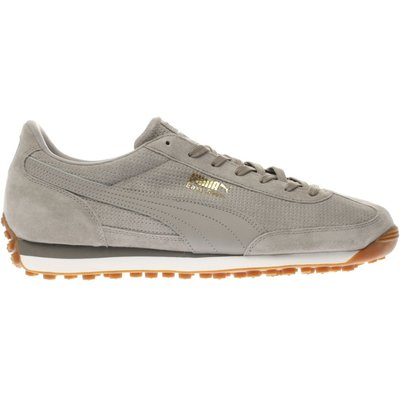 puma light grey easy rider trainers - 5054458190771