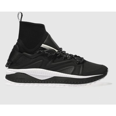 puma black   white tsugi kori trainers - 5054458211384
