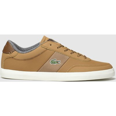 Lacoste Tan Court-master Trainers