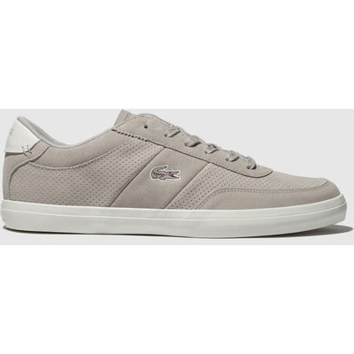 Lacoste Light Grey Court-master Trainers