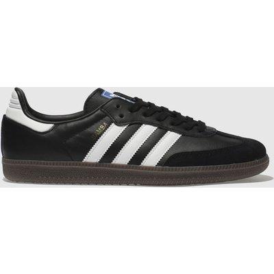 Adidas Black & White Samba Og Trainers