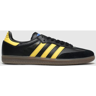 Adidas Black & Brown Samba Og Trainers
