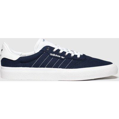 Adidas Skateboarding Navy & White 3mc Trainers