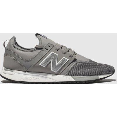 New Balance Grey 247 Trainers