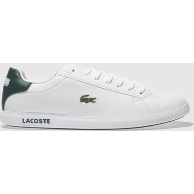 Lacoste White & Green Graduate Lcr3 Trainers