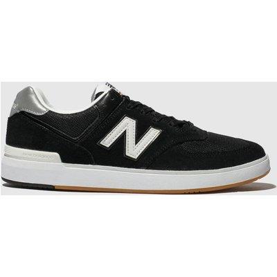 New Balance Black & White All Coasts 574 Trainers