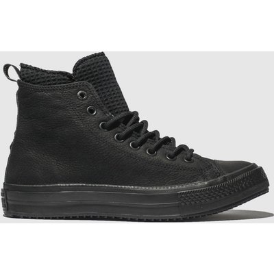 Converse Black All Star Utility Draft Boot Hi Trainers