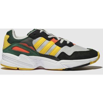 Adidas Grey & Black Yung 96 Trainers