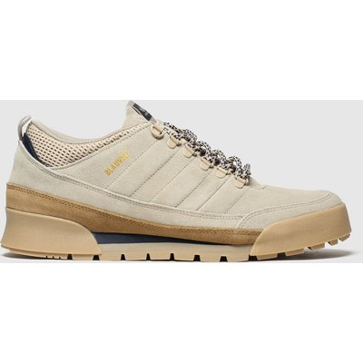 Adidas Skateboarding Beige & Brown Jake Boot 2.0 Low Trainers