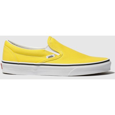 Vans Yellow Classic Slip-on Trainers