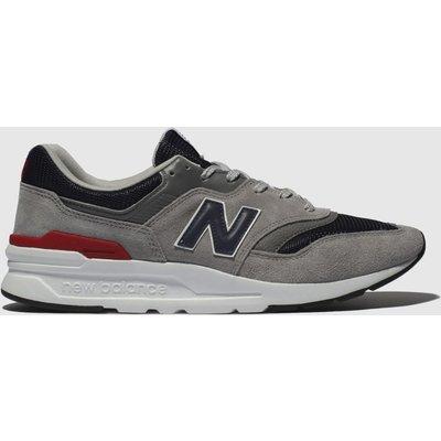 New Balance Grey & Navy 997 Trainers