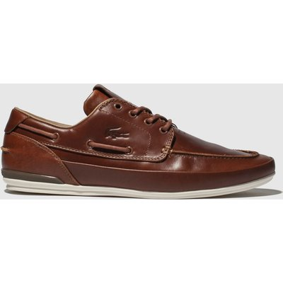 Lacoste Brown Marina Trainers