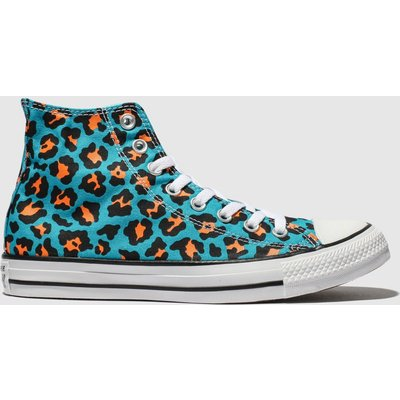Converse Blue Cons Ctas Courtside Animal Hi Trainers