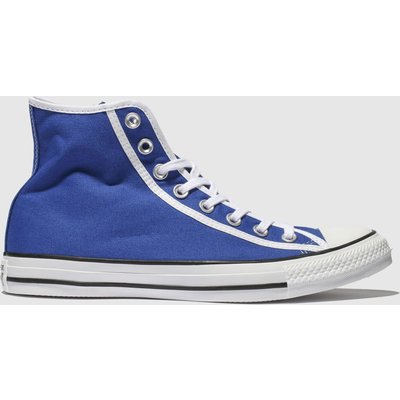 Converse Blue Chuck Taylor All Star Hi Trainers