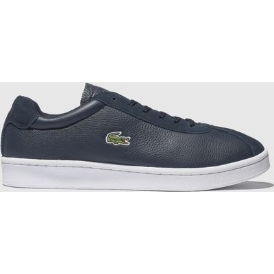 Lacoste Navy & White Masters Trainers