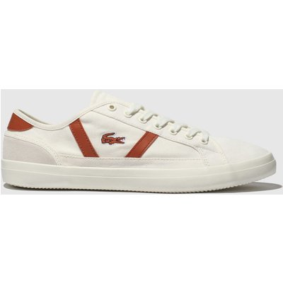 Lacoste White Sideline Trainers