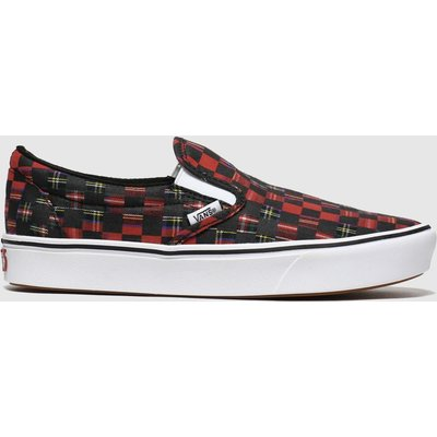 Vans Red Comfycush Slip-on Trainers