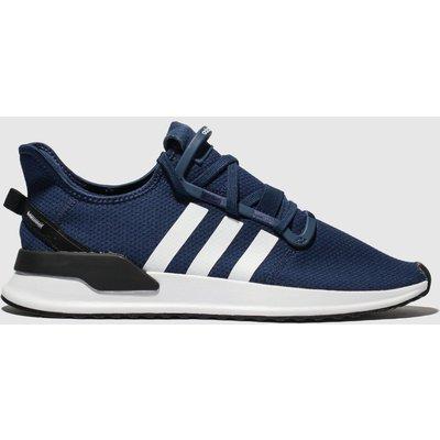Adidas Navy & White U_path Run Trainers