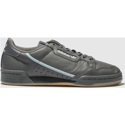 Adidas Dark Grey Continental 80 Trainers