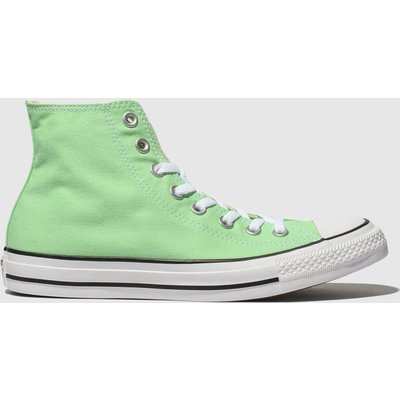 Converse Green Chuck Taylor All Star Hi Trainers