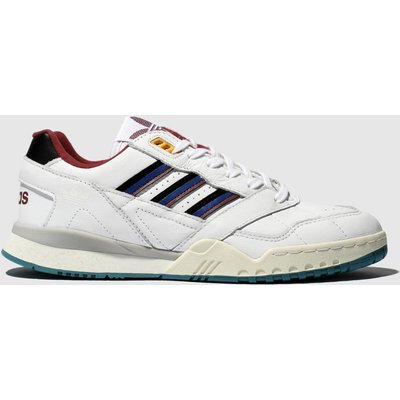 Adidas White & Navy A.r. Trainers