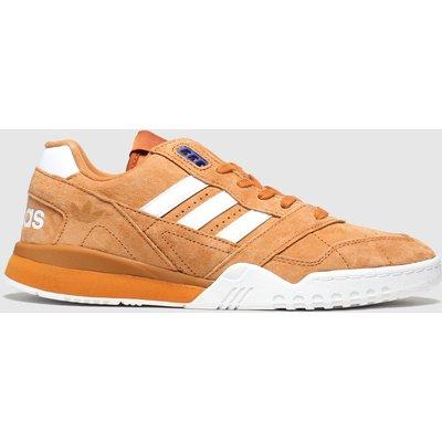 Adidas Orange A.r. Trainers