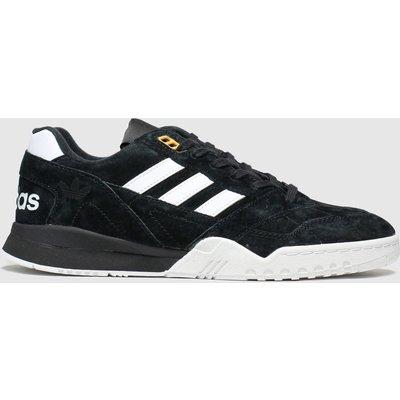 Adidas Black & White A.r. Trainers