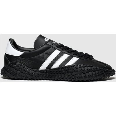 Adidas Black & White Countryxkamanda Trainers