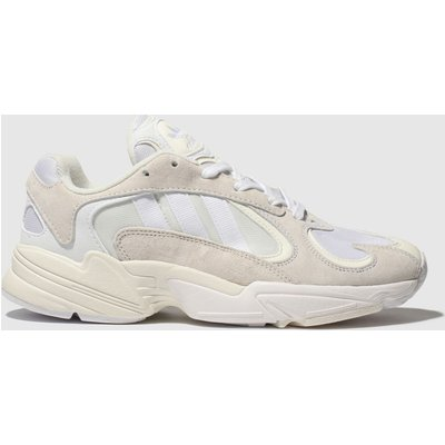 Adidas White Yung-1 Trainers