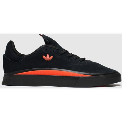 Adidas Skateboarding Black & Red Sabalo Trainers