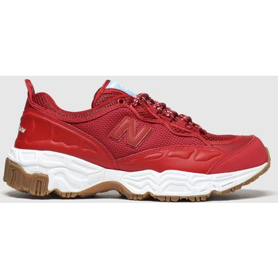 New Balance Red 801 Trainers